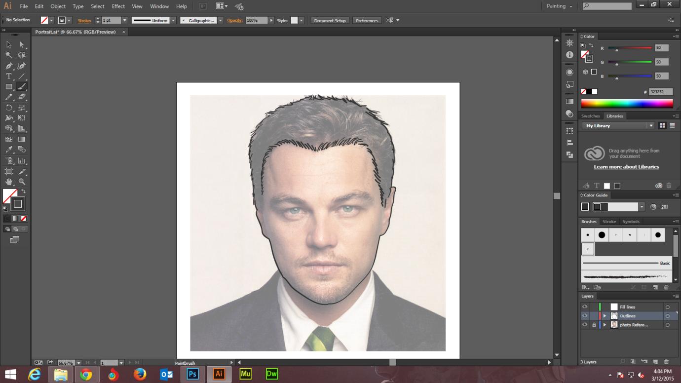 Step - 1 Adobe Illustrator