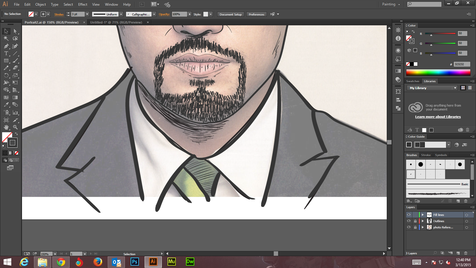 Step - 10 - Adobe Illustrator tutorials