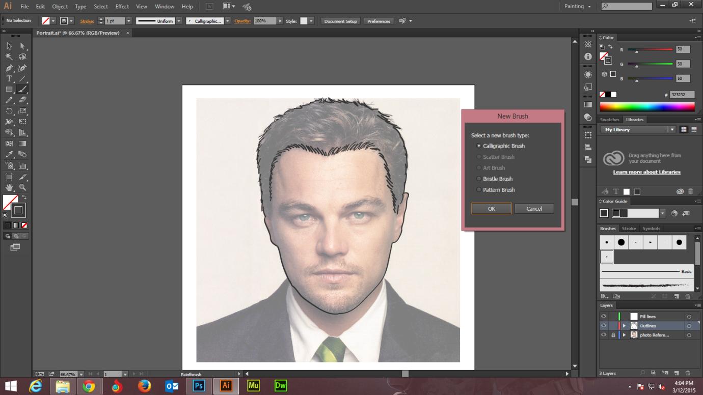 Step - 2 Adobe Illustrator tutorials