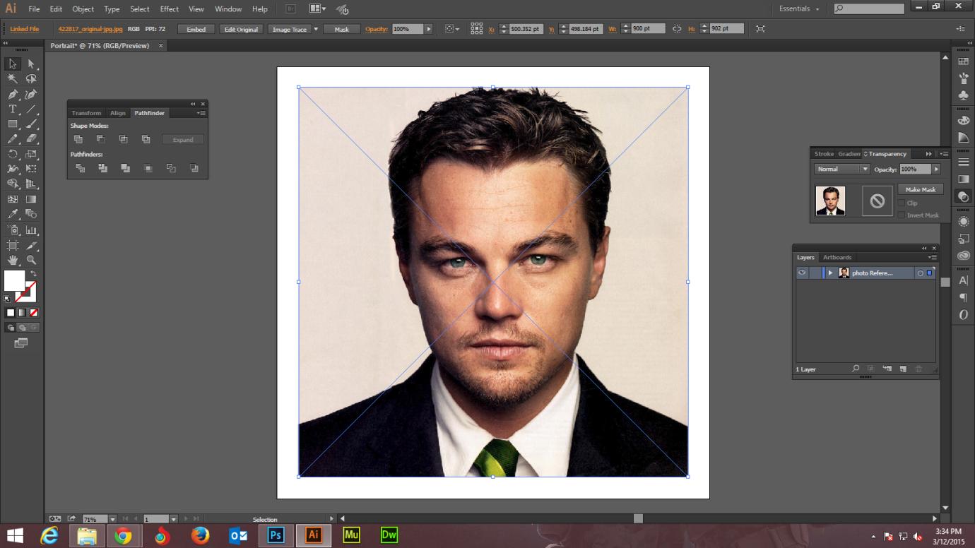 Step -2 Create Digital Art And Marker Style Portrait