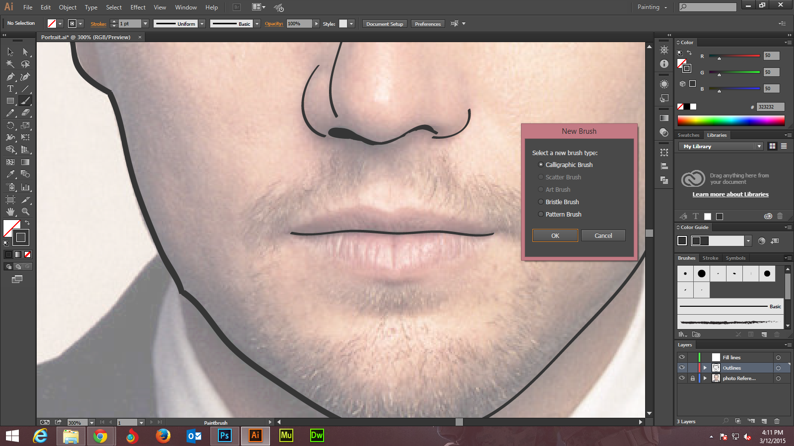 Step -3 Adobe Illustrator tutorials