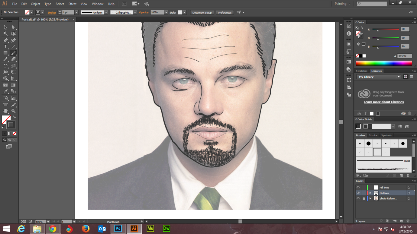 Step - 5 - Adobe Illustrator tutorials