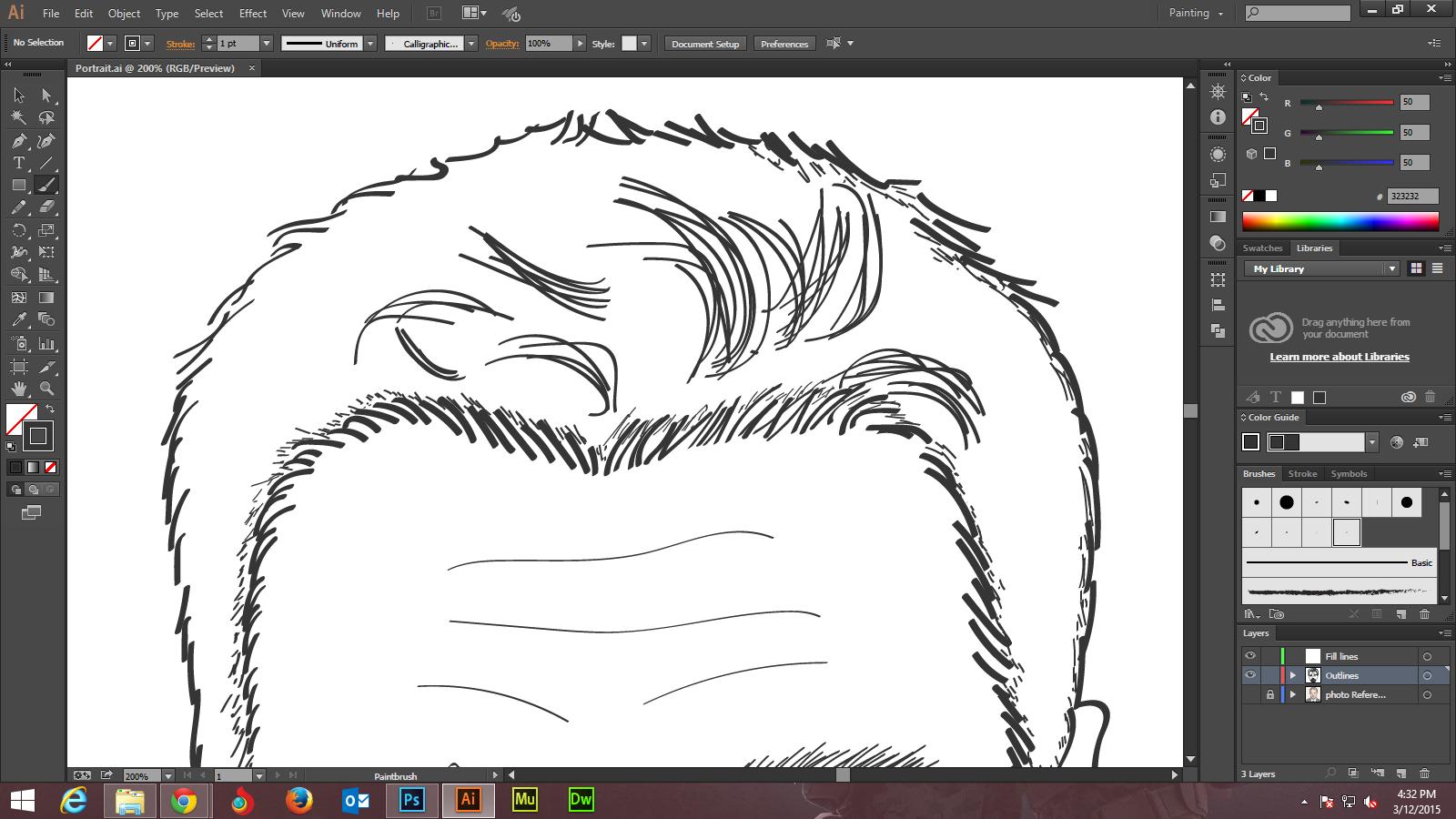 Step - 6- Adobe Illustrator tutorials