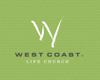 West Coast Life Church Religious Themed Logo Designs