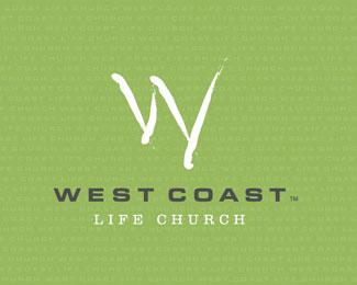 West Coast Life Church Religious Themed Logo Designs