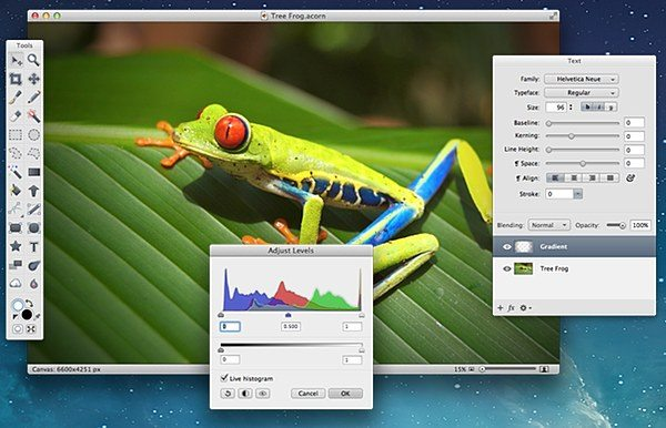 Acorn- Photo Editing Software