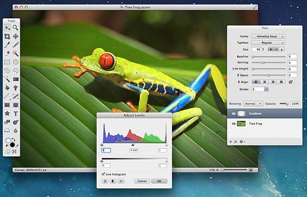Acorn- Photo Editing Software