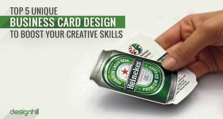 Top 5 unique business card designs to boost your creative skills business card designs colourmoves