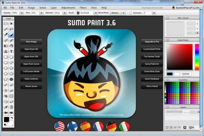 Sumo Paint- Photo Editing Software