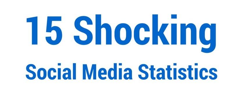 15 Shocking Social Media Statistics