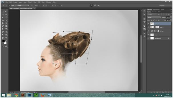 Create A Dark Abstract Crow Manipulation Step -8