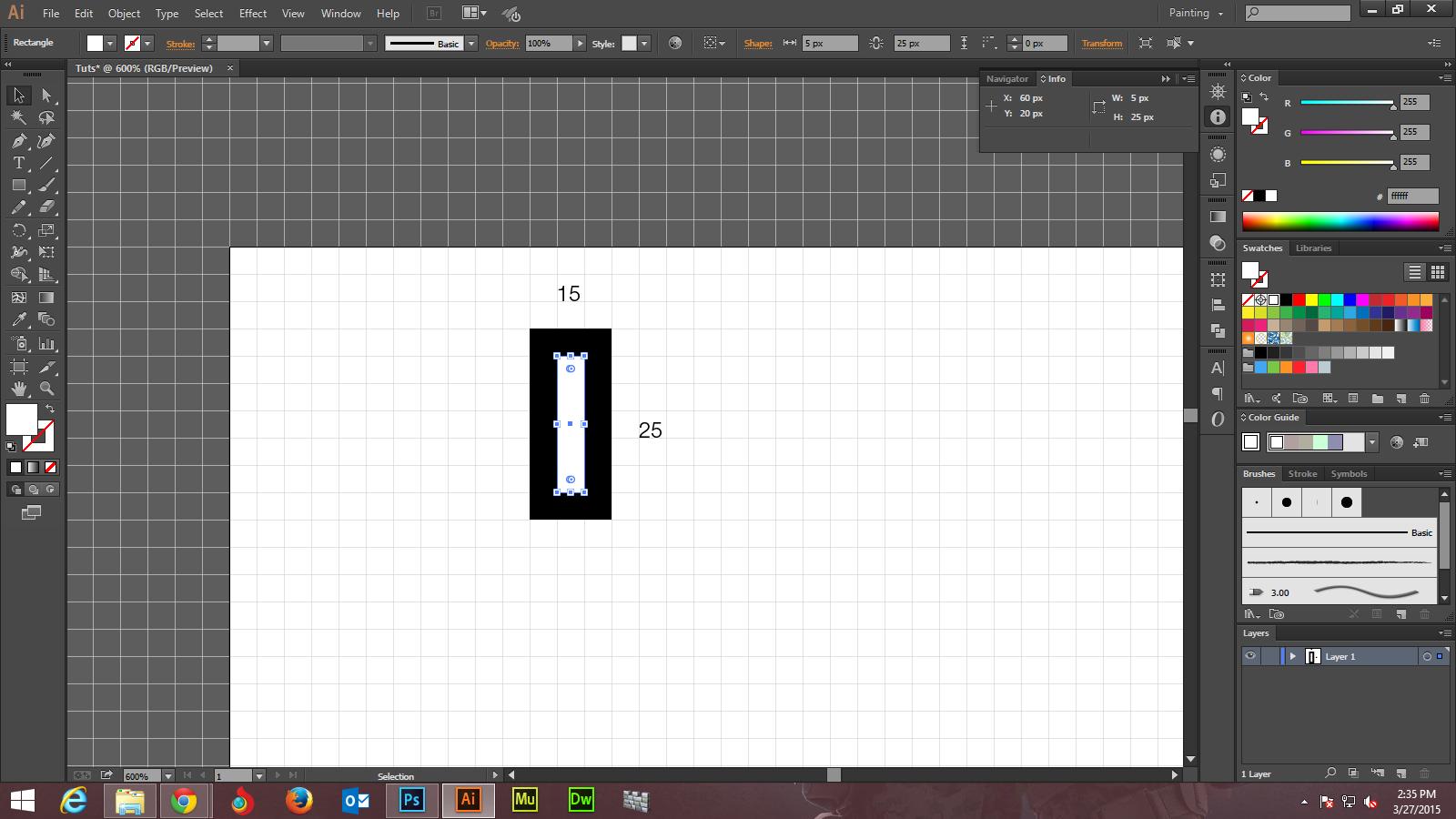 Create A Pencil Pattern Brush  Step - 5