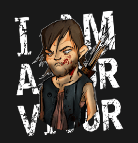 Daryl Dixon T-shirt Designs 14