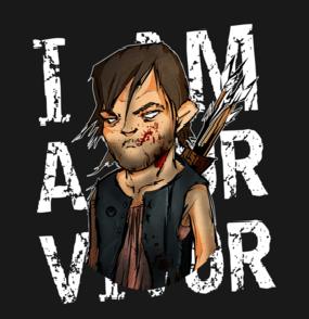 Daryl Dixon T-shirt Designs 14