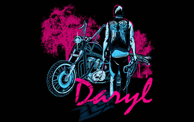 Daryl Dixon T-shirt Designs 16