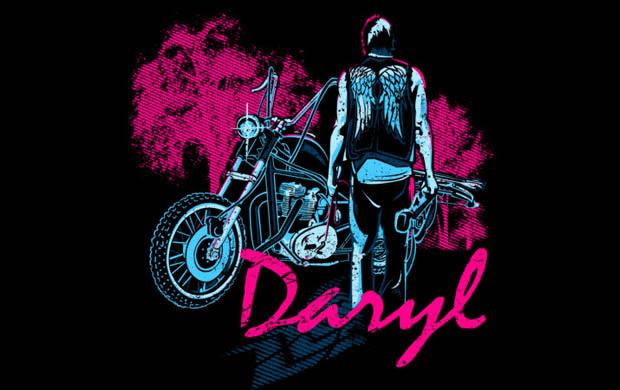 Daryl Dixon T-shirt Designs 16