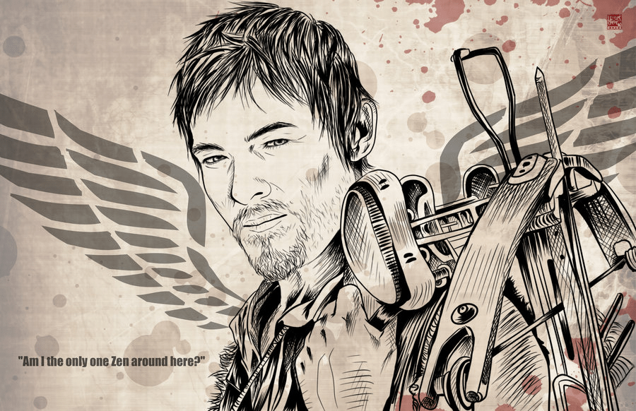Daryl Dixon T-shirt Designs 20