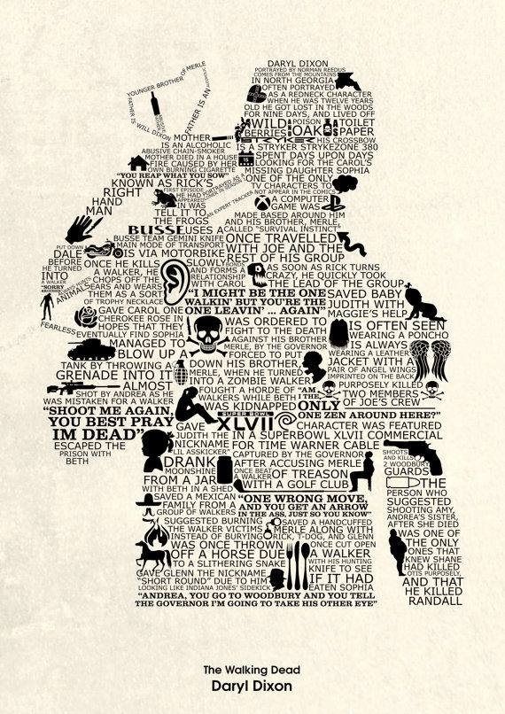 Daryl Dixon T-shirt Designs 3