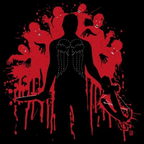 Daryl Dixon T-shirt Designs 35