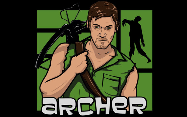 Daryl Dixon T-shirt Designs 49