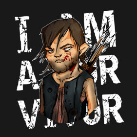 Daryl Dixon T-shirt Designs 5