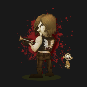 Daryl Dixon T-shirt Designs 6