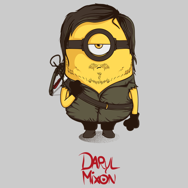 Daryl Dixon T-shirt Designs 8