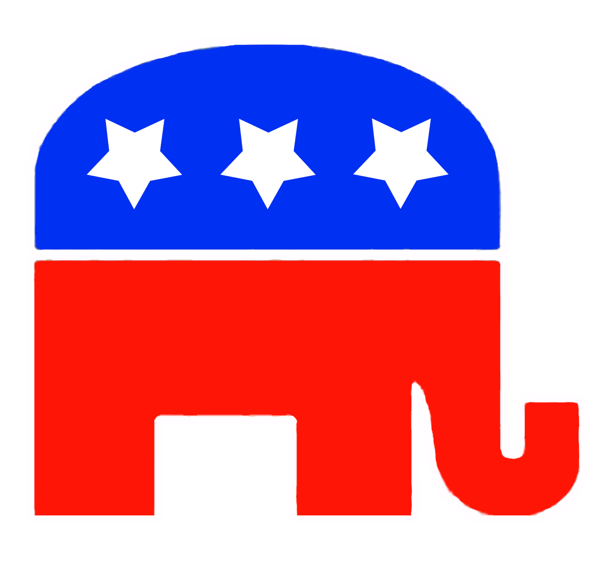 Democrat And Republican Symbol Republican Party Logo ...