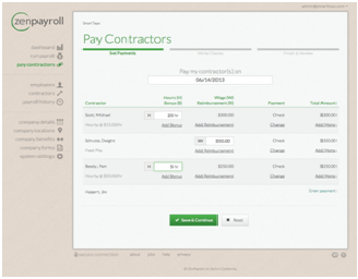 Start-ups Best Resources ZenPayroll