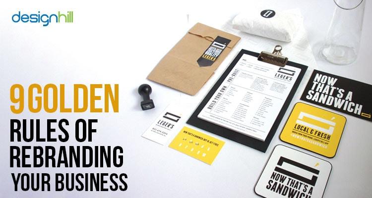 Rebranding business