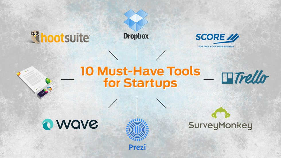 10 Must-Have Tools for Startups