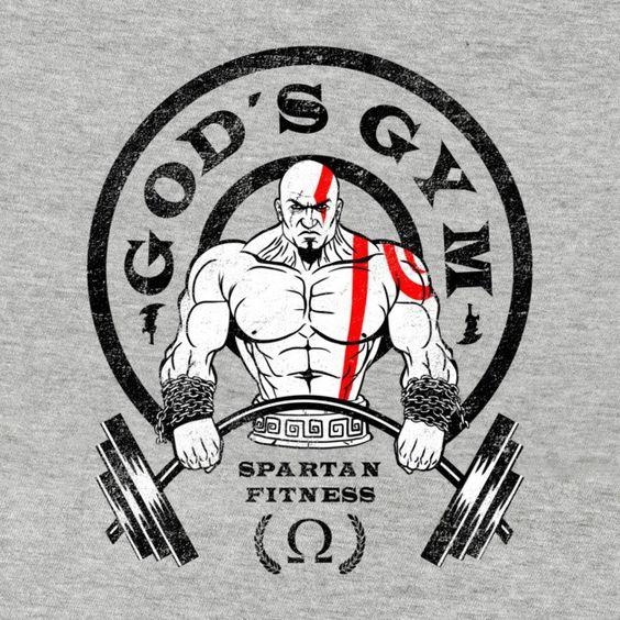Fitness gym tshirt design