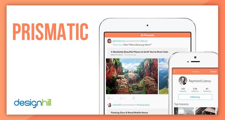 Prismatic mobile app