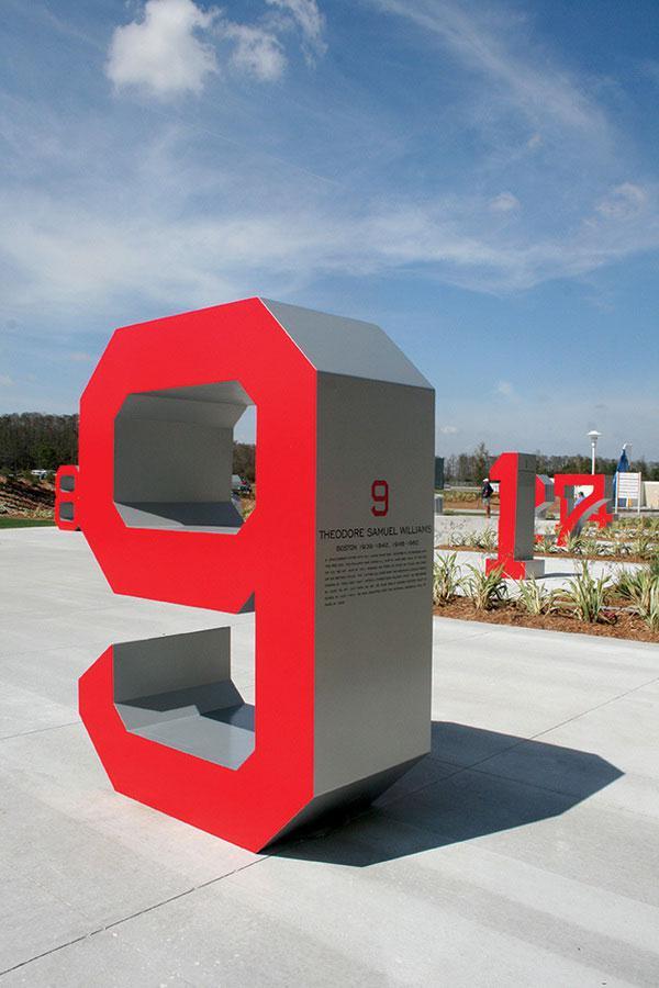Fenway South Wayfinder Signage Design