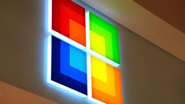 Microsoft Identity Signage  Design