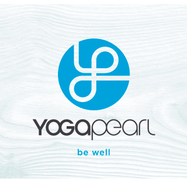 Pearl yoga logo design