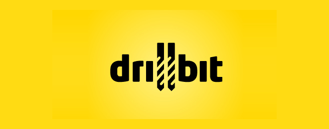 Drillbit - Construction Logo