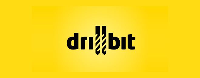 Drillbit - Construction Logo
