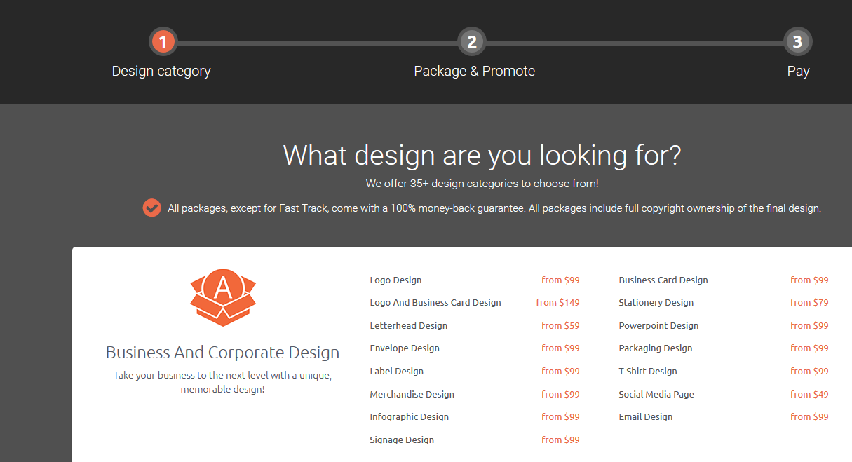 What design are you looking for