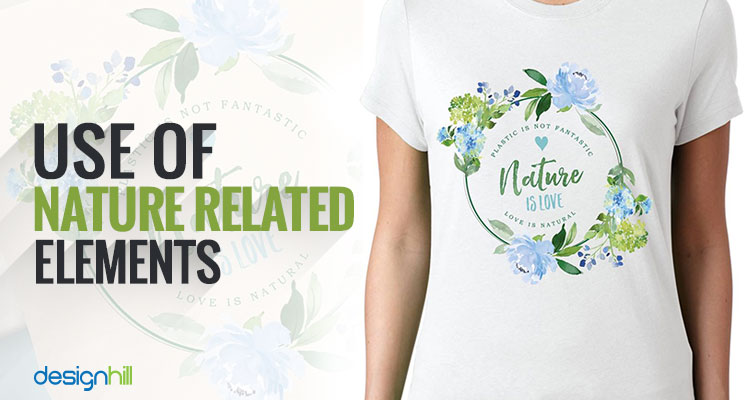 Nature Related t shirt design