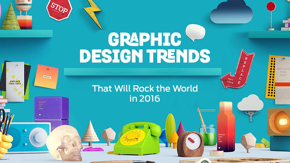 Graphic Design Trends That Will Rock The World In 2016