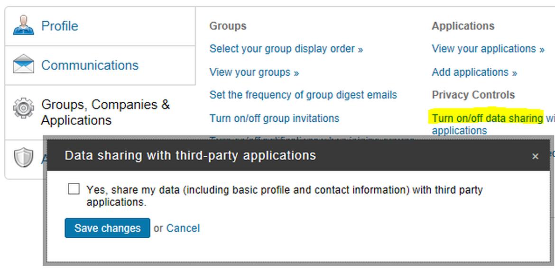 Linkedin Profile 1