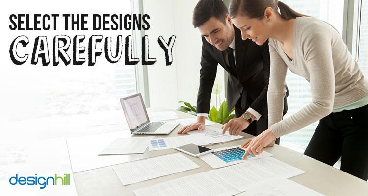 Check Designs Carefully