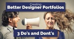 How to create better designer portfolio