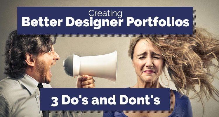 How to create better designer portfolio