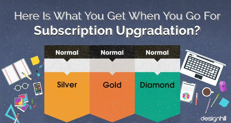 Designer Subscription Upgradation