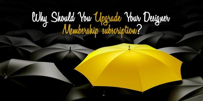 Designer Subscription Upgradation