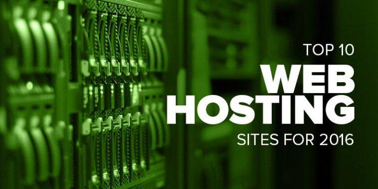 Top Web Hosting Websites of 2016