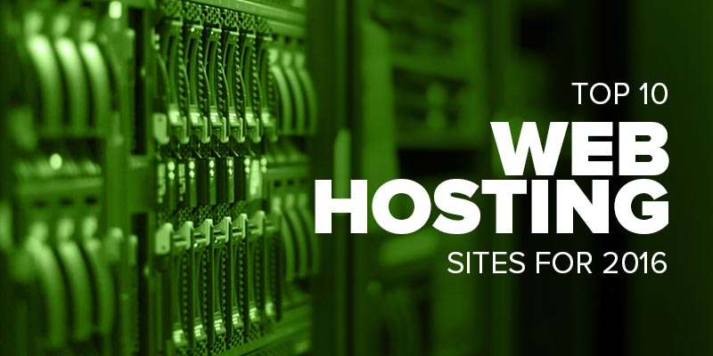 Top Web Hosting Websites of 2016