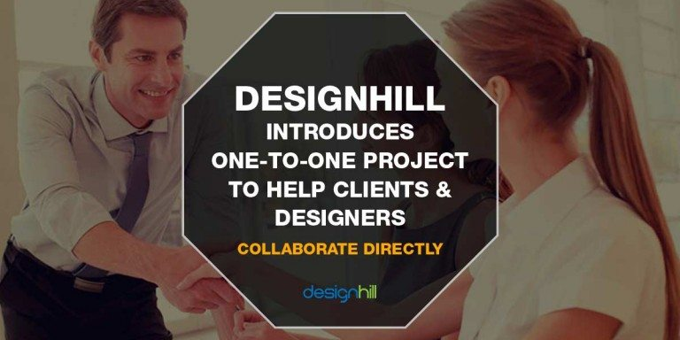 Designhill Introduces One-to-One Project to Help Clients & Designers Collaborate Directly